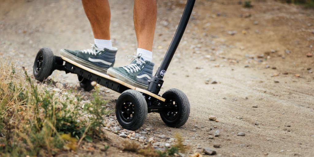 Yawboard E-Scooter is an all-terrain vehicle