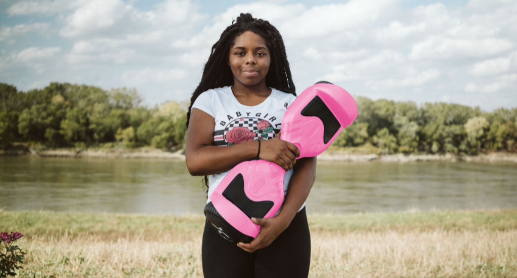 Pink Hover-1 Rival Hoverboard