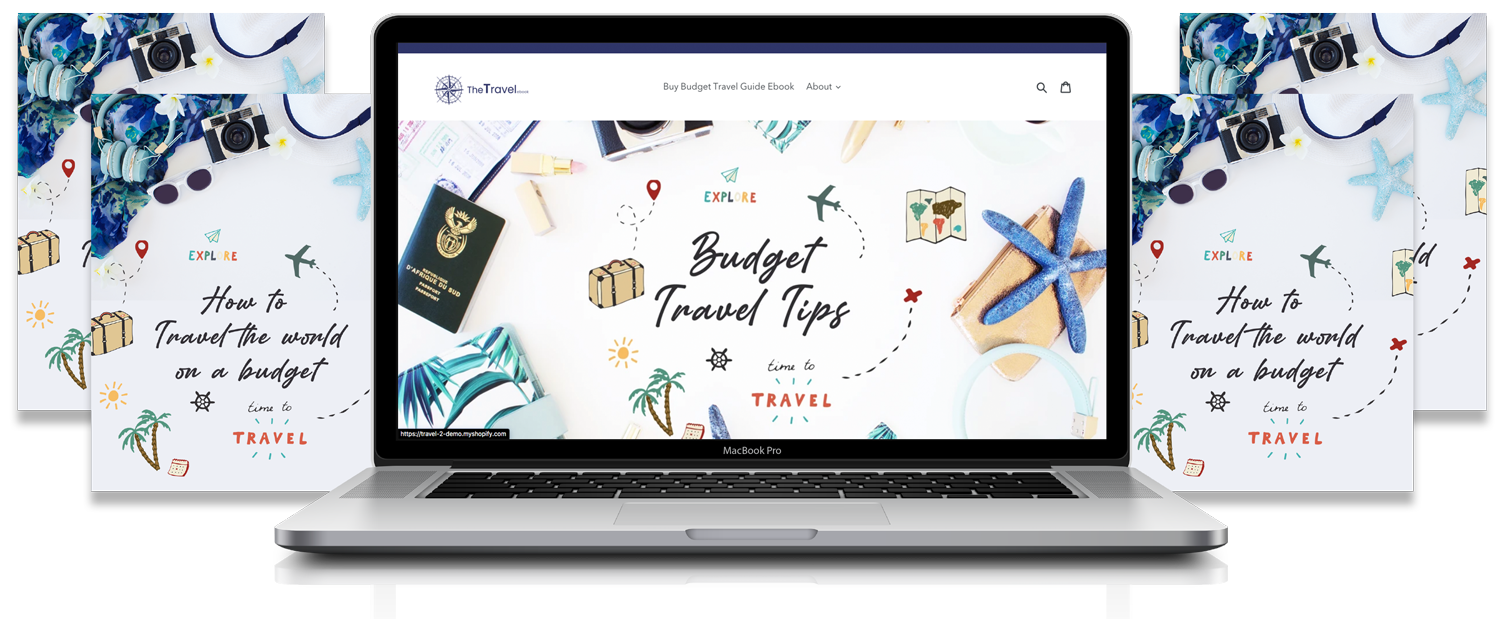 'Passport stamp' Travel Niche